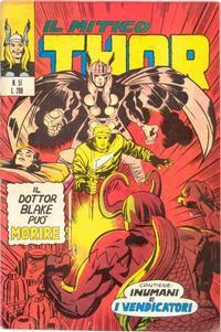 Cover Thumbnail for Il Mitico Thor (Editoriale Corno, 1971 series) #51
