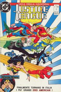 Cover Thumbnail for Justice League [Lega della Giustizia] (Play Press, 1990 series) #1