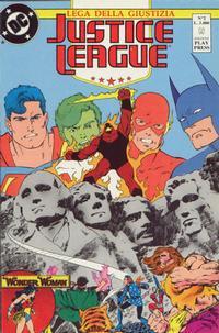 Cover Thumbnail for Justice League [Lega della Giustizia] (Play Press, 1990 series) #2