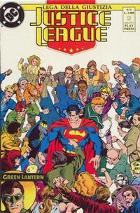 Cover Thumbnail for Justice League [Lega della Giustizia] (Play Press, 1990 series) #3