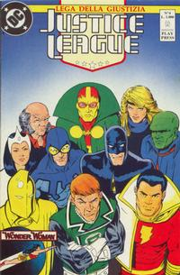 Cover Thumbnail for Justice League [Lega della Giustizia] (Play Press, 1990 series) #4