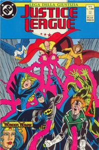 Cover Thumbnail for Justice League [Lega della Giustizia] (Play Press, 1990 series) #5
