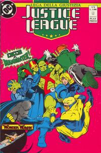 Cover Thumbnail for Justice League [Lega della Giustizia] (Play Press, 1990 series) #8
