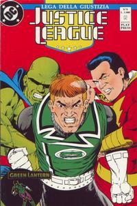 Cover Thumbnail for Justice League [Lega della Giustizia] (Play Press, 1990 series) #9