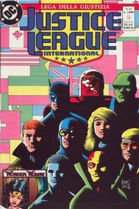 Cover Thumbnail for Justice League [Lega della Giustizia] (Play Press, 1990 series) #11