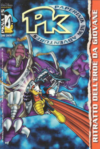 Cover Thumbnail for Pk Paperinik New Adventures (The Walt Disney Company Italia, 1996 series) #5