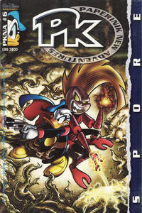 Cover Thumbnail for Pk Paperinik New Adventures (The Walt Disney Company Italia, 1996 series) #6