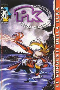 Cover Thumbnail for Pk Paperinik New Adventures (The Walt Disney Company Italia, 1996 series) #9