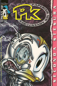 Cover Thumbnail for Pk Paperinik New Adventures (The Walt Disney Company Italia, 1996 series) #12