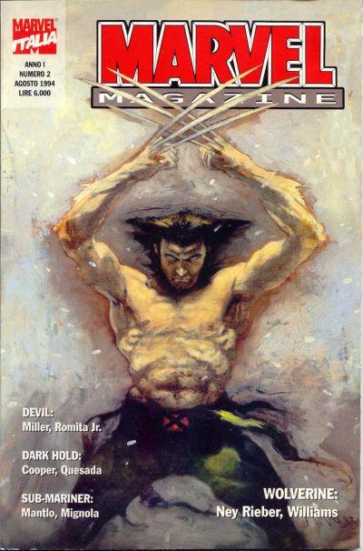 Cover for Marvel Magazine (Marvel Italia, 1994 series) #2