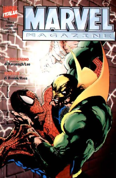 Cover for Marvel Magazine (Marvel Italia, 1994 series) #7