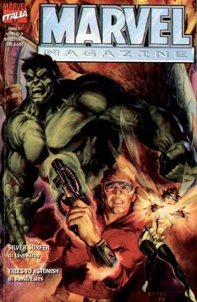 Cover for Marvel Magazine (Marvel Italia, 1994 series) #9