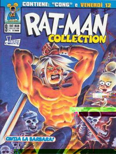 Cover for Rat-man Collection (Marvel Italia, 1997 series) #9