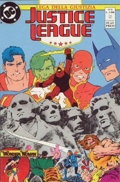 Cover for Justice League [Lega della Giustizia] (Play Press, 1990 series) #2