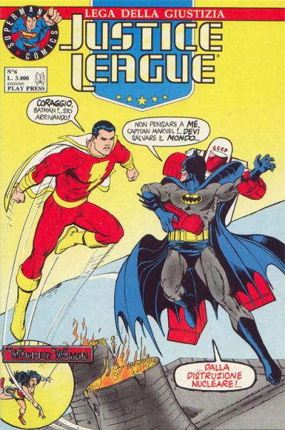Cover for Justice League [Lega della Giustizia] (Play Press, 1990 series) #6