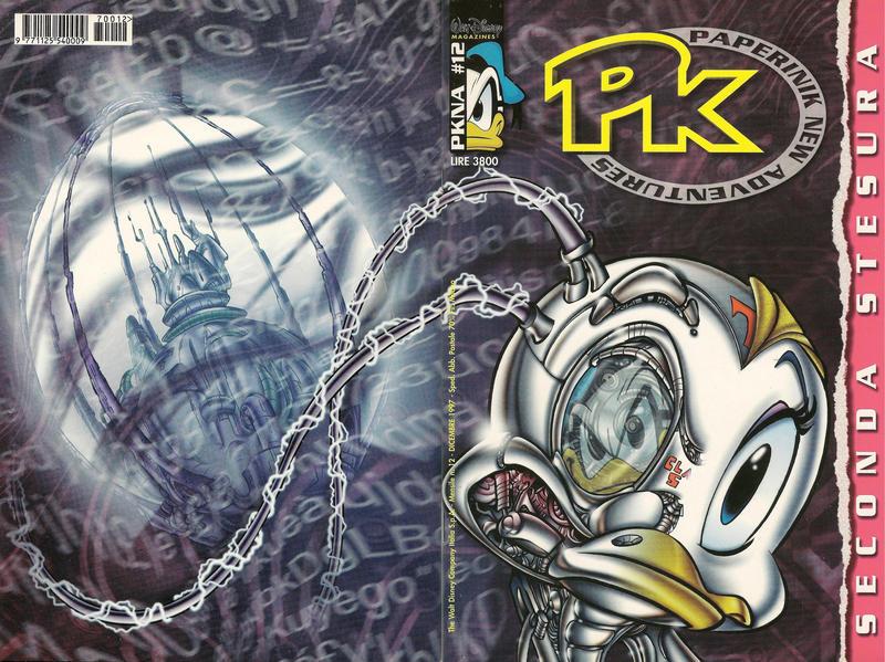 Cover for Pk Paperinik New Adventures (The Walt Disney Company Italia, 1996 series) #12