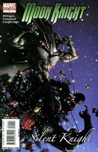 Cover Thumbnail for Moon Knight: Silent Knight (Marvel, 2008 series) #1