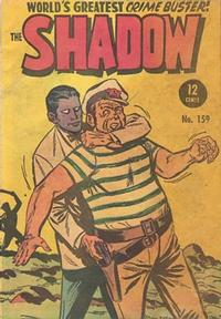 Cover Thumbnail for The Shadow (Frew Publications, 1952 series) #159