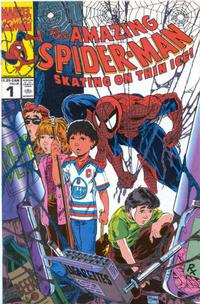 Cover Thumbnail for The Amazing Spider-Man: Skating on Thin Ice (Marvel, 1992 series) #1