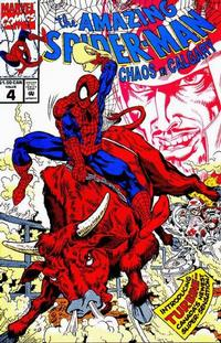 Cover Thumbnail for The Amazing Spider-Man: Chaos in Calgary (Marvel, 1992 series) #4