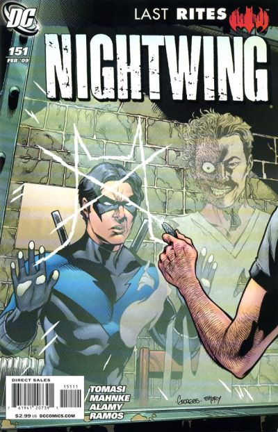 Cover for Nightwing (DC, 1996 series) #151