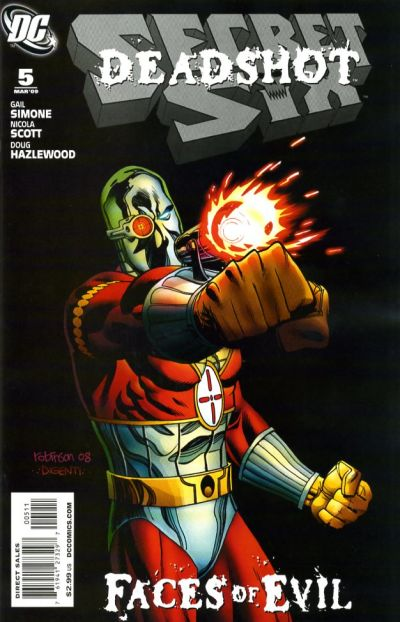 Cover for Secret Six (DC, 2008 series) #5
