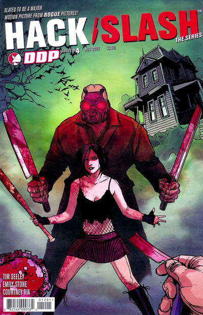 Cover for Hack/Slash: The Series (Devil's Due Publishing, 2007 series) #4