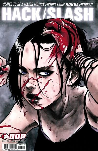 Cover for Hack/Slash: The Series (Devil's Due Publishing, 2007 series) #6 [Cover B Ross Campbell]
