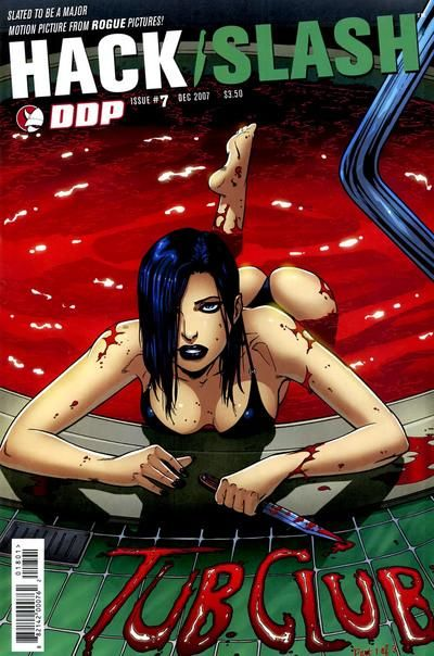 Cover for Hack/Slash: The Series (Devil's Due Publishing, 2007 series) #7