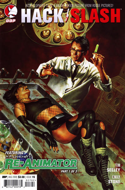 Cover for Hack/Slash: The Series (Devil's Due Publishing, 2007 series) #15 [Cover A]