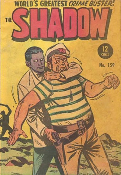 Cover for The Shadow (Frew Publications, 1952 series) #159