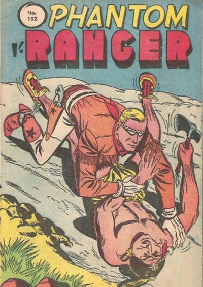 Cover for The Phantom Ranger (Frew Publications, 1948 series) #152