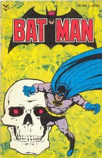 Cover Thumbnail for Batman (Editrice Cenisio, 1976 series) #45