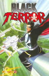 Cover Thumbnail for Black Terror (Dynamite Entertainment, 2008 series) #2 [Alex Ross Cover]