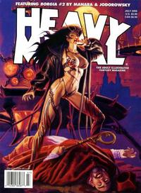 Cover Thumbnail for Heavy Metal Magazine (Heavy Metal, 1977 series) #v30#3