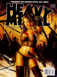 Cover Thumbnail for Heavy Metal Magazine (Metal Mammoth, Inc., 1992 series) #v31#3