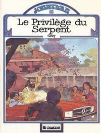 Cover Thumbnail for Jonathan (Le Lombard, 1977 series) #8 - Le privilège du serpent