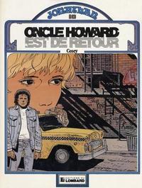 Cover Thumbnail for Jonathan (Le Lombard, 1977 series) #10 - Oncle Howard est de retour