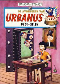 Cover Thumbnail for De avonturen van Urbanus (Standaard Uitgeverij, 1996 series) #129 - De 3D-bielen
