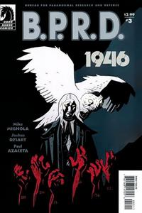 Cover Thumbnail for B.P.R.D.: 1946 (Dark Horse, 2008 series) #3