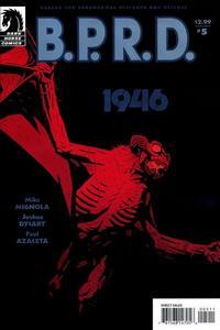 Cover Thumbnail for B.P.R.D.: 1946 (Dark Horse, 2008 series) #5