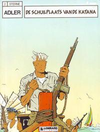 Cover Thumbnail for Adler (Le Lombard, 1987 series) #2 - De schuilplaats van de Katana