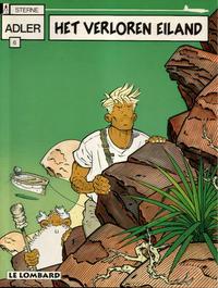 Cover Thumbnail for Adler (Le Lombard, 1987 series) #6 - Het verloren eiland