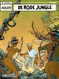 Cover Thumbnail for Adler (Le Lombard, 1987 series) #7 - De rode jungle