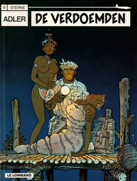Cover Thumbnail for Adler (Le Lombard, 1987 series) #8 - De verdoemden