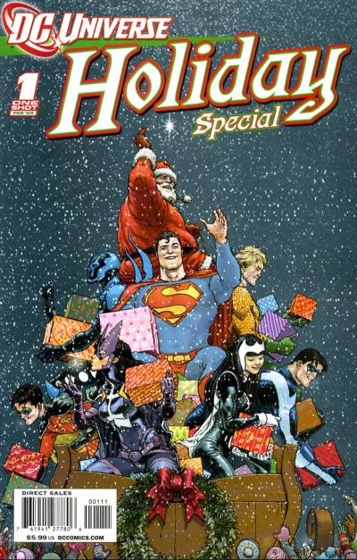 Cover for DCU Holiday Special (DC, 2009 series) #1