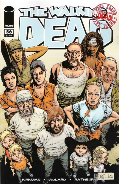 Cover for The Walking Dead (Image, 2003 series) #56