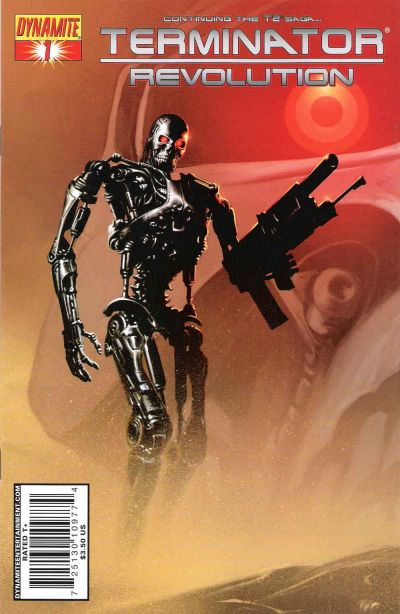 Cover for Terminator: Revolution (Dynamite Entertainment, 2008 series) #1