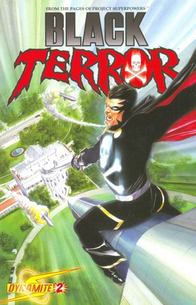 Cover for Black Terror (Dynamite Entertainment, 2008 series) #2 [Alex Ross Cover]