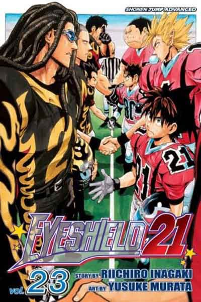 Cover for Eyeshield 21 (Viz, 2005 series) #23